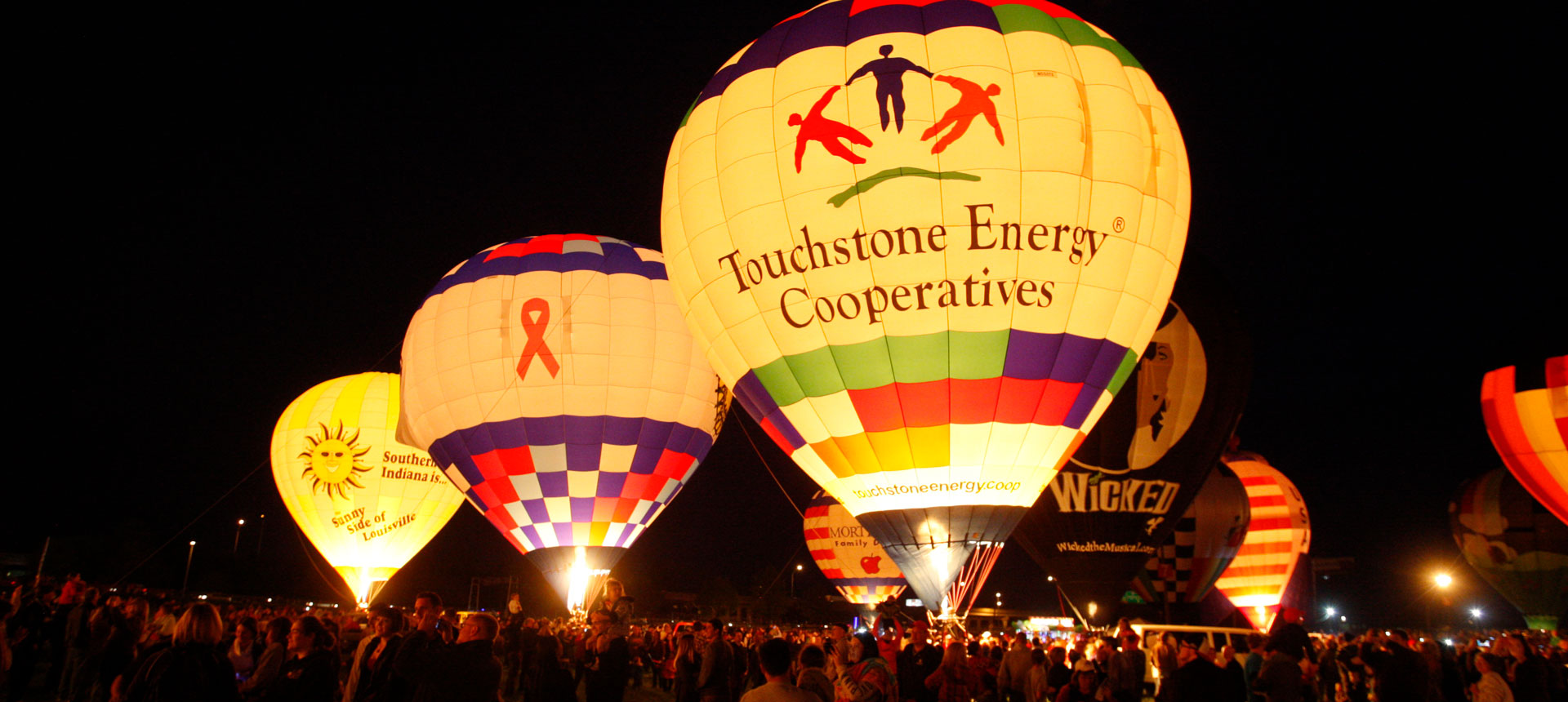 Touchstone Energy Balloon event